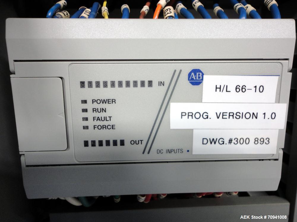 Used- Orion Model L66/10S Semi-Automatic Low Profile Stretch Wrapper
