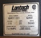 Used- Lantech Model Q300 Stretch Wrapper. 72