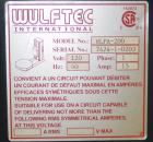 Used- Wulftec Model WLPA-200 Semi Automatic Low Profile Stretch Wrapper