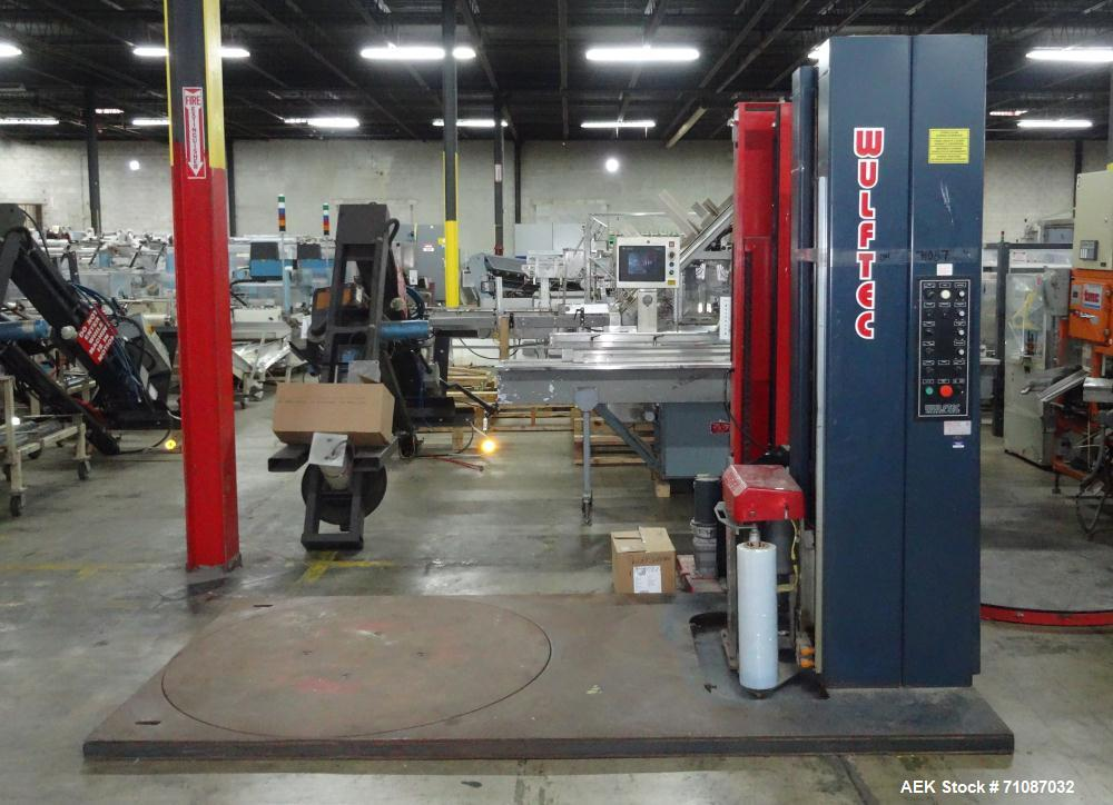 Used- Wulftec Model WLP-200 Automatic Stretch Wrapper