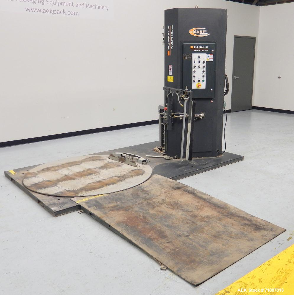 Used- Wulftec Model WSMLPA-200-S Pallet Stretch Wrapper