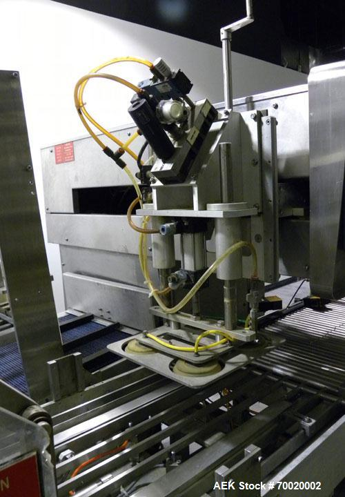 Used- Stainless Steel Delkor Spot-Pak Packaging, Model SP-RH-TLC-E