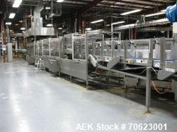 Used- Standard Knapp Model 296P Continuum Tray Packer and Registered Film Shrink