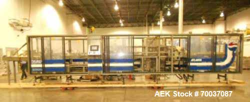Used- Nigrelli, Model Envoy 125 (RH) High Speed Trayloader Packer. Previously used to pack 12oz 202/211 x 415 beverage cans ...