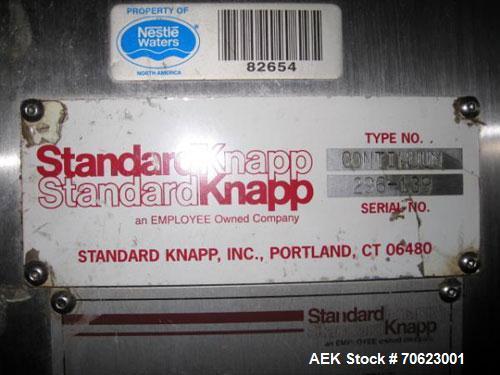 Used- Standard Knapp Model 296P Continuum Tray Packer and Registered Film Shrink