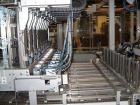 Used-Power Food Tray Packer.  Capacity 40 cartons/min, 6 cups per carton.  Packing size 27.5