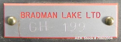 Used- Bradman Lake Model HS2/60G Dual Head Hot Melt Tray Former