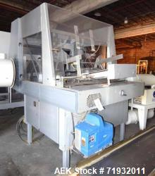 Used-Bosch-Doboy Model 7510 single head tray fomer. Capble of speeds from 10 to 60 trays per minute. Has a tray size range: ...
