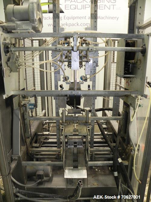 Used- SWF Model 1T4 Trayformer. Stainless steel frame capable of speeds up to 35 trays per miniute depending on case size.Ha...