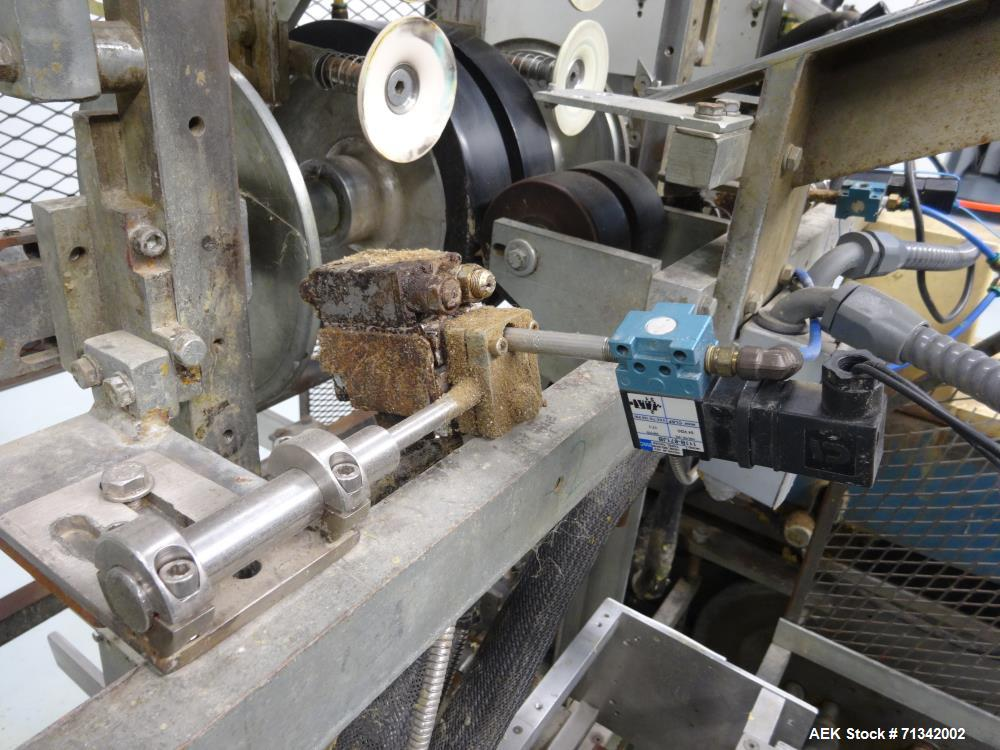 Used- SWF Model 1T6K Quick Change Tray Former w/Nordson and Vacuum Pick