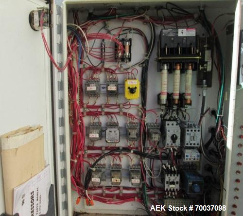 """Used- SWF Model 1D5A Bliss Trayformer, can run up to speeds of 12-35 boxes per minute. Box sizes: 9-1/4"""" to 31-7/8"""" in lengt..."""