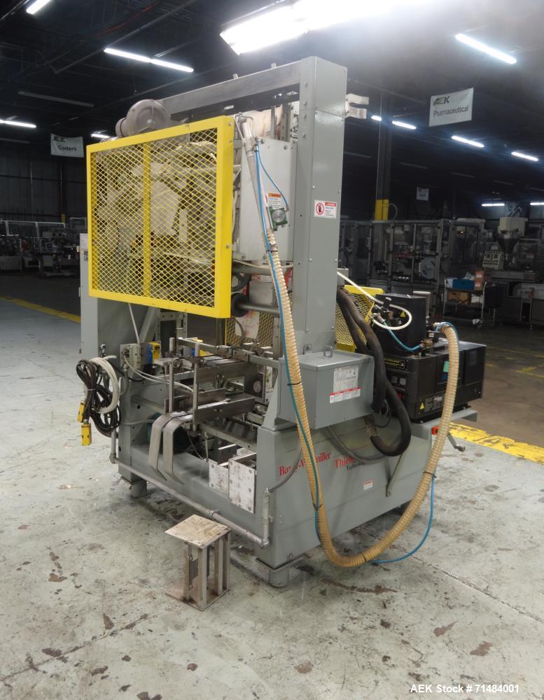 Used- SWF (Thiele) Model TF400V Automatic Hot Melt Glue Tray Former