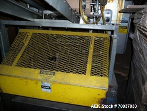 Used-SWF Vacuum Trayformer, model 1T4. 480 VAC, 60 hz, capable of speeds up to 35 trays per miniute (depending on case size)...