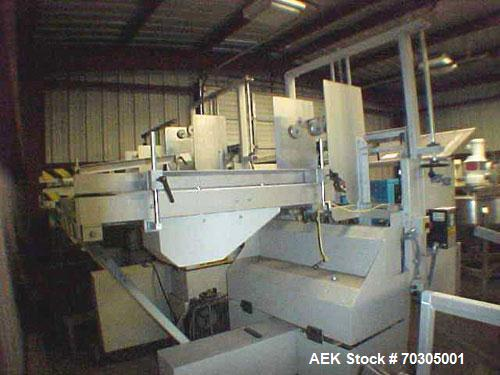 Used-Used: Wexxar ATF tray former. Very Good Condition, with Nordson hot melt series 3400 Microset, model 1AA34 Multiscan, t...