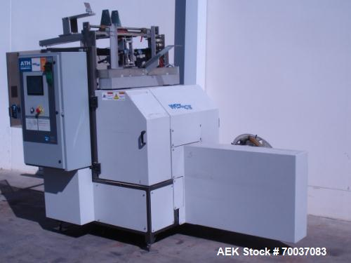 Used- Wexxar, Model ATH Automatic Tray Former with Nordson hot melt glue closure. It forms Corner Glued Trays: flaps inside,...