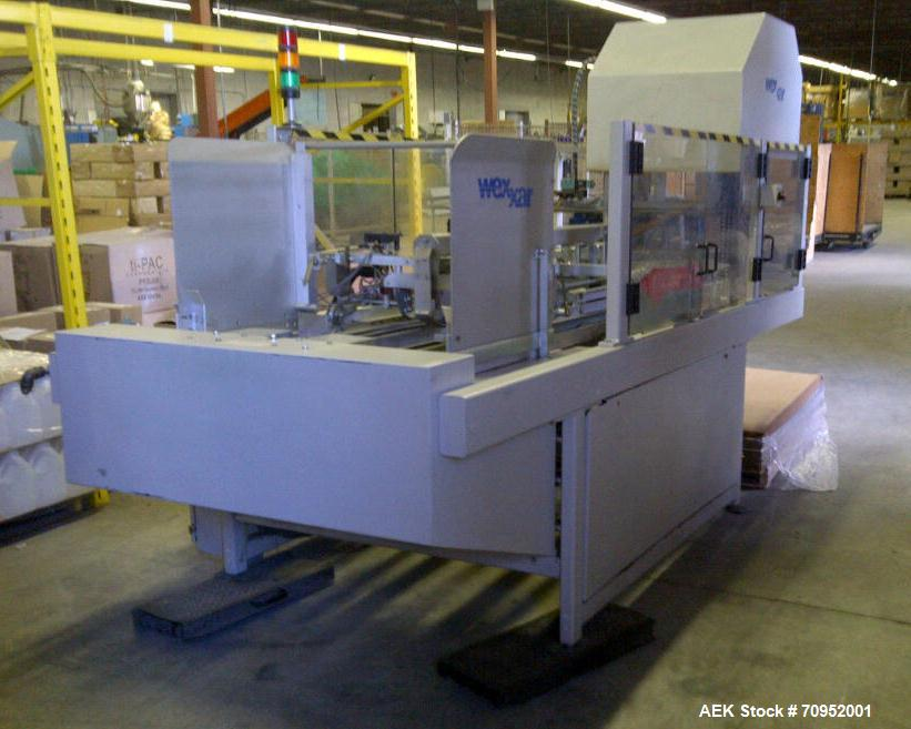 Used-Wexxar Model Delta-3 Hot Melt Tray Former