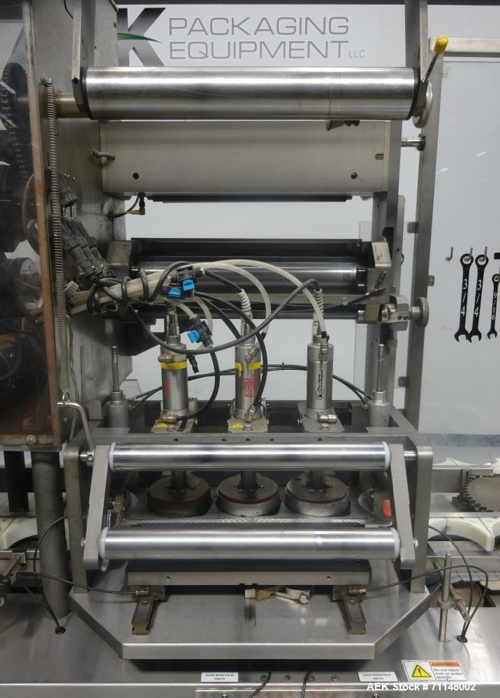 Used- Holmatic Model CBS-18 Inline Conduction Heat Sealer
