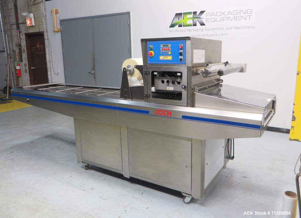 Used- Koch Equipment (Ilpra) Model 1000/Speedy 3 Automatic Tray Sealer