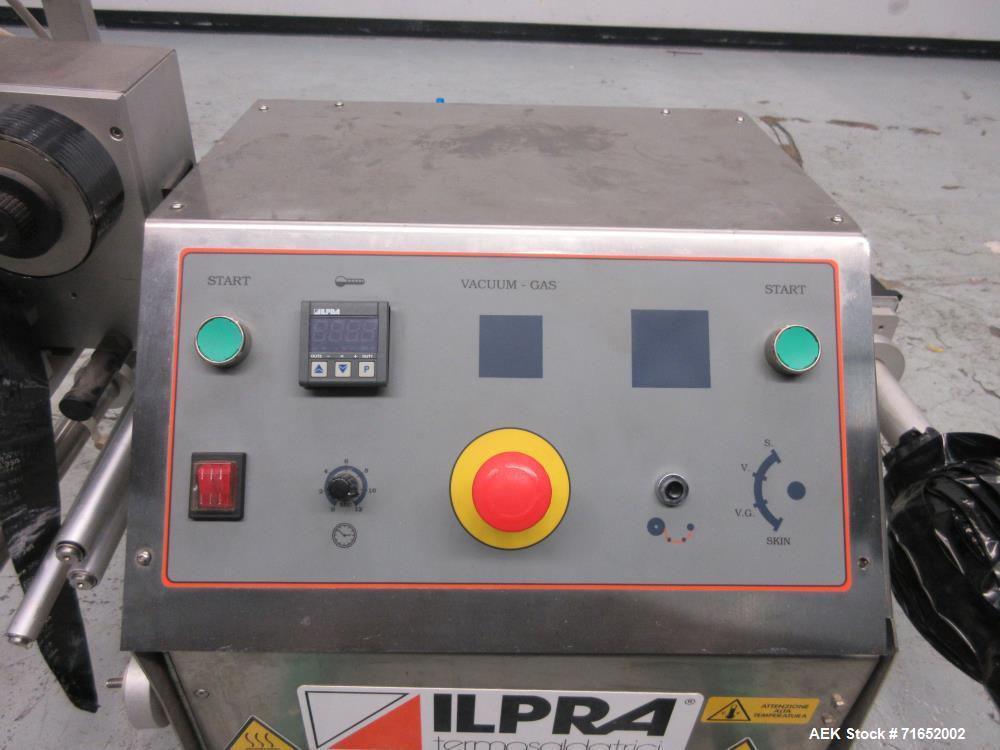 Used- Ilpra Model FP Basic Table-Top Atmospheric Tray Sealer