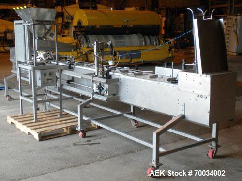 Used- Stainless Steel Kraken Automation Tray Filler, Model GMI-X230