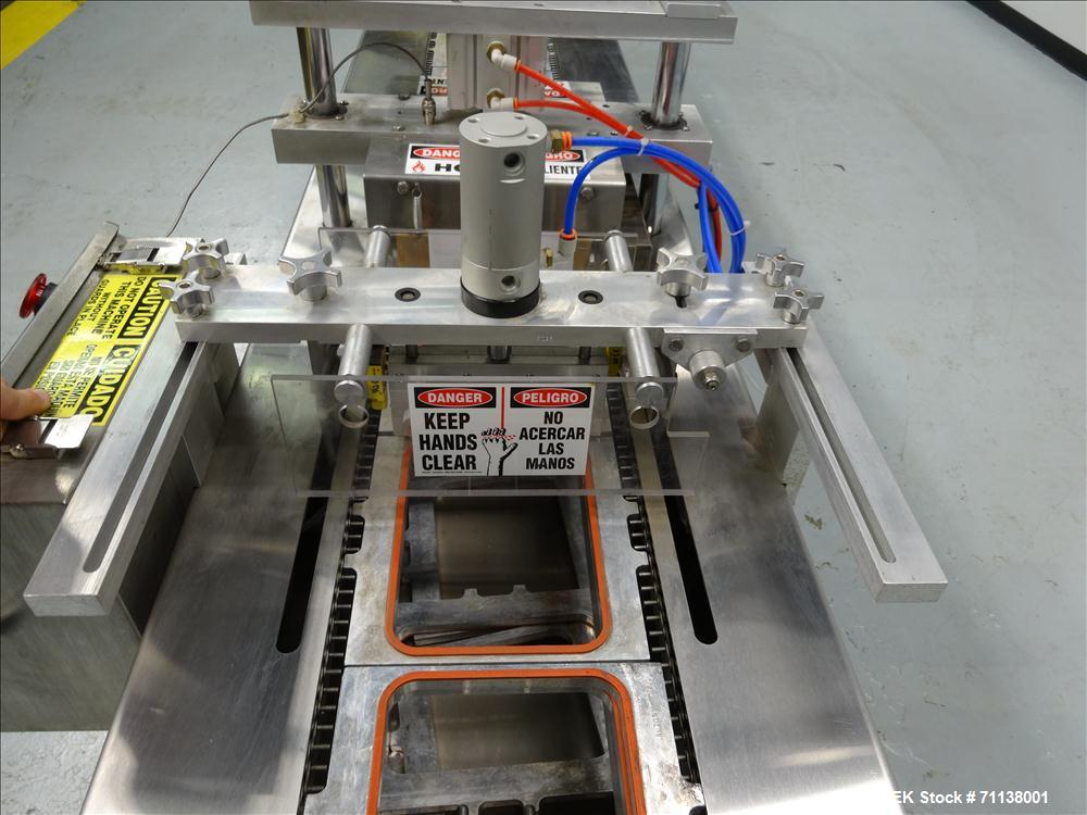 Used- Omniseal Machines Model IDX 279 Tray Sealer