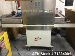 Used- Belco Medical Tray Sealer, Model BM EL 3025. Digital seal time controllers with lockout. (Front and Rear). Control pan...