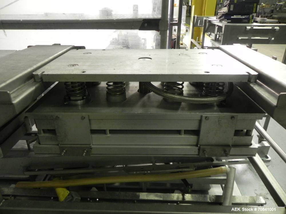 Used- G. Mondini Model CVS/T1-S Tray and Pan Sealer