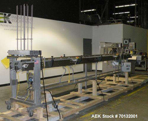 Used- Orics Industries Modified Atmosphere Packaging Rotary Tray Sealer, Model R