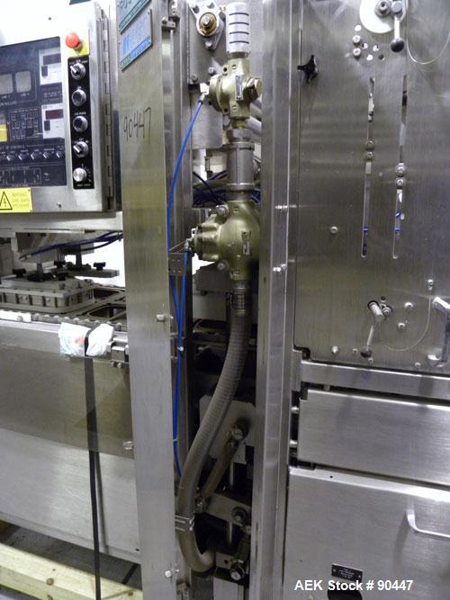 Used- Ross Industries Inpack Dual Lane Tray Sealer, Model 3180
