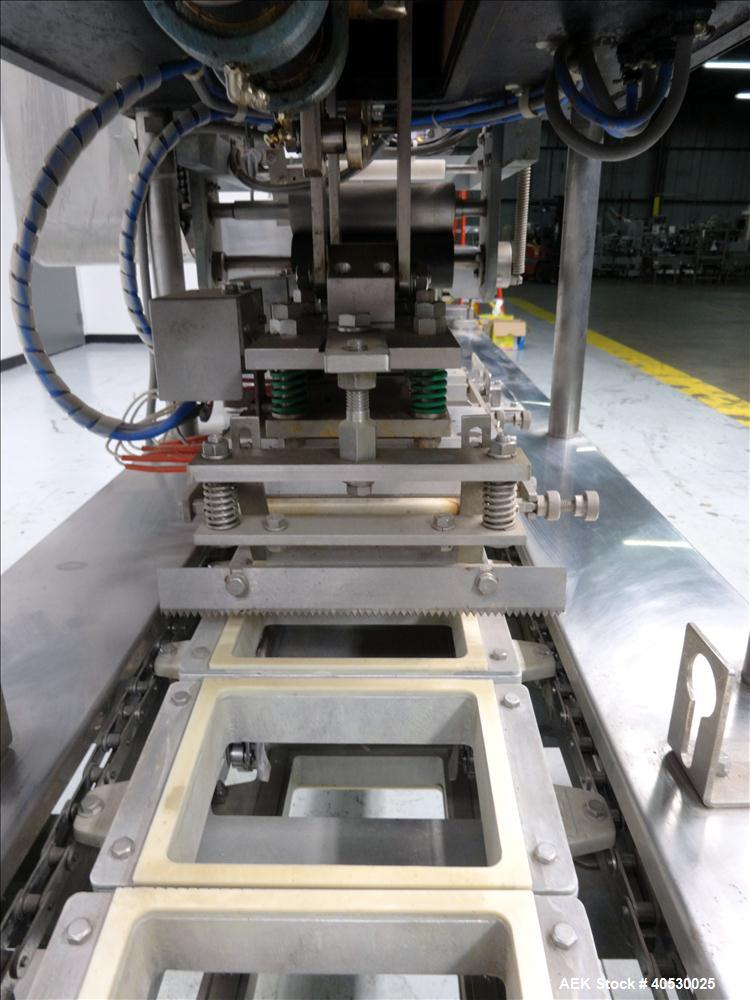 Used- Sato Tray Sealing Machine Used for Tofu Packaging, Model C-3