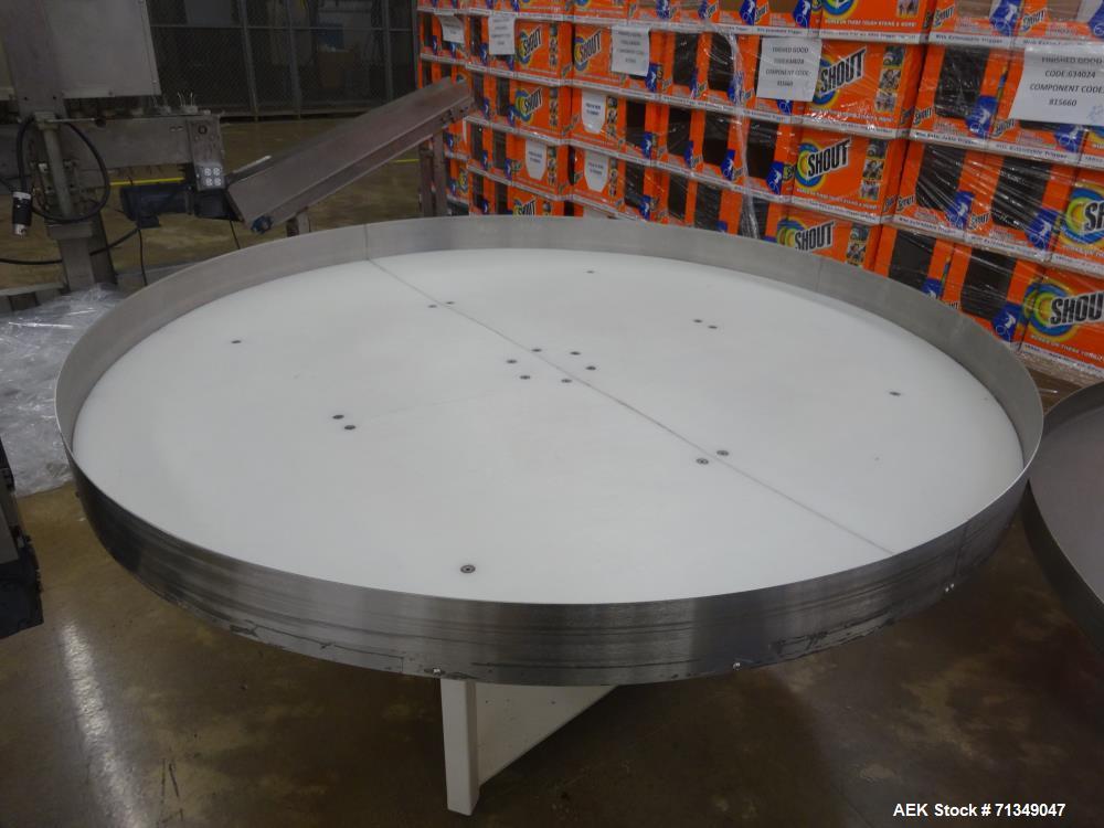 """Used- 72"""" Diameter Accumulation Table"""