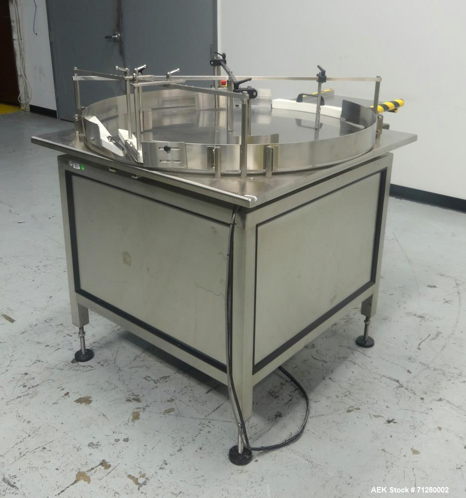 Used- FP Developments Inc Rotary Accumulation Table