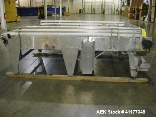 Used- Stainless Steal I & H Accumulation Table