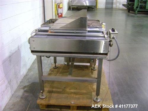 """Used- Nedco 46"""" long x 33"""" wide accumulation table"""