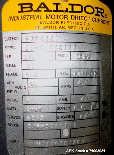 Used- Stainless Steel Hoppmann Model FT-50 Centrifugal Bowl Feeder