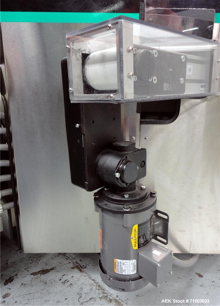 Used-Stainless Steel Hoppmann Model FT-50 Centrifugal Bowl Feeder