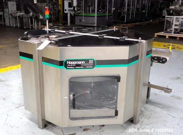 Used-Hoppmann Centrifugal Bowl Feeder, Model FT-50