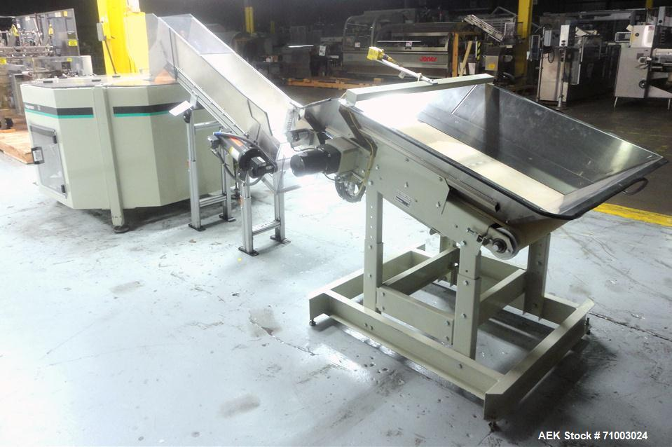 Used- Stainless Steel Hoppmann Model FT-50 Centrifugal Bowl Feeder