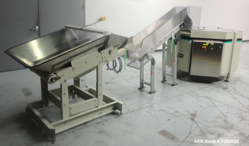 Used- Hoppmann Model FT-50 Centrifugal Bowl Feeder