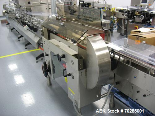 Used-  Kalish 7400 bulk bottle unscrambler with ionized air cleaner