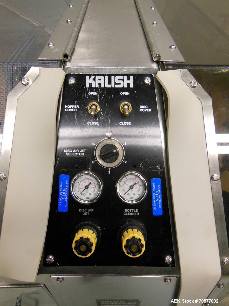 Used- Kalish (IMA) Model Kalisort 60 Bottle Unscrambler