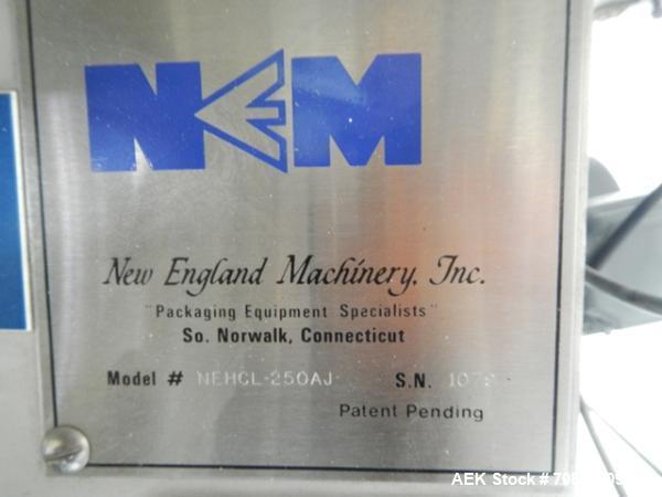 Used- New England Model NEHCL-250AJ Bulk Bottle Unscrambler