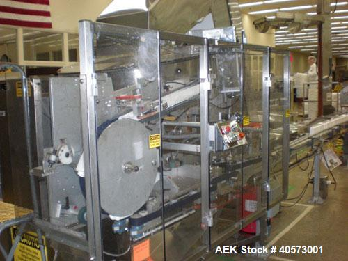 "Used- New England NECHL 350AJ Bulk Plastic Bottle Unscrambler with ionized air cleaner. Has 36"" diameter sorting bowl, all s..."