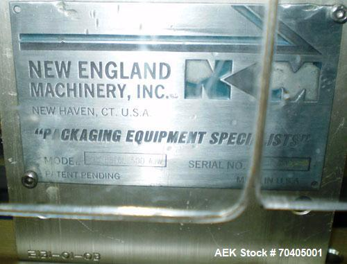 Used- New England Bulk Bottle Unscrambler, Model NEHHBTCL-500AJW
