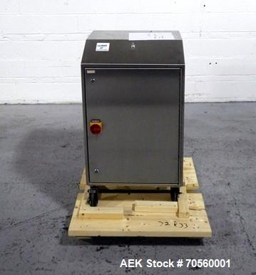 Used- New England NEHSCL100A Bulk Bottle Unscrambler with Ionized Air Cleaner