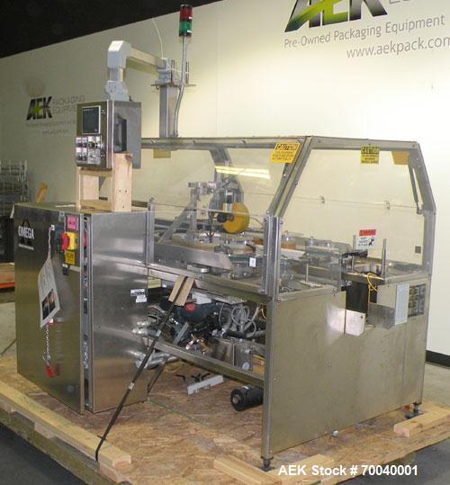 Used- Omega Design Fifth Panel Carton Orienter Collator, Model HFPO