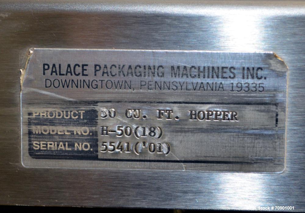 Used- Palace Model CB-42/PB/H-50 Bulk Bottle Unscrambler