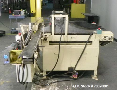 Used- Pneumatic Scale Lane Feed Table