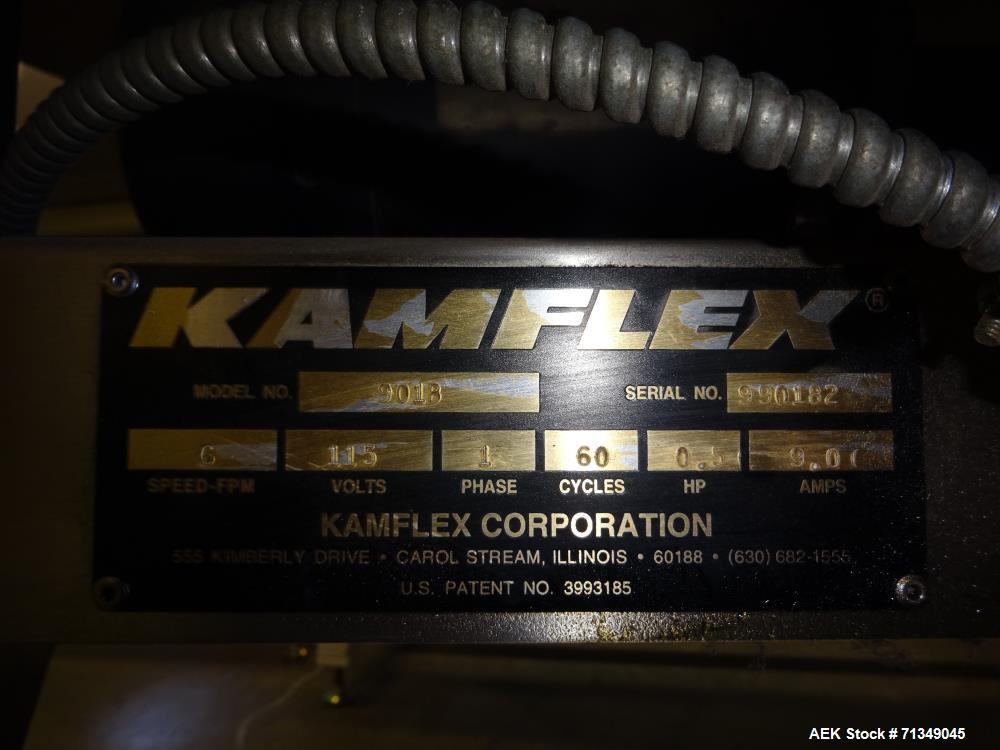 "Used- Kamflex Model 901 61"" Diameter Accumulation Table"