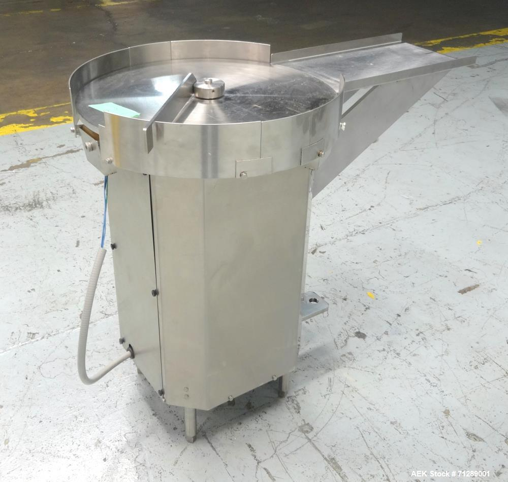 Used- Cozzoli Machine Company Rotary Accumulation Table
